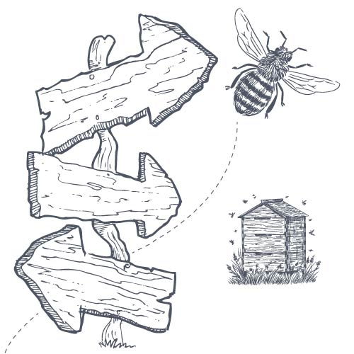 Directions to The Hive